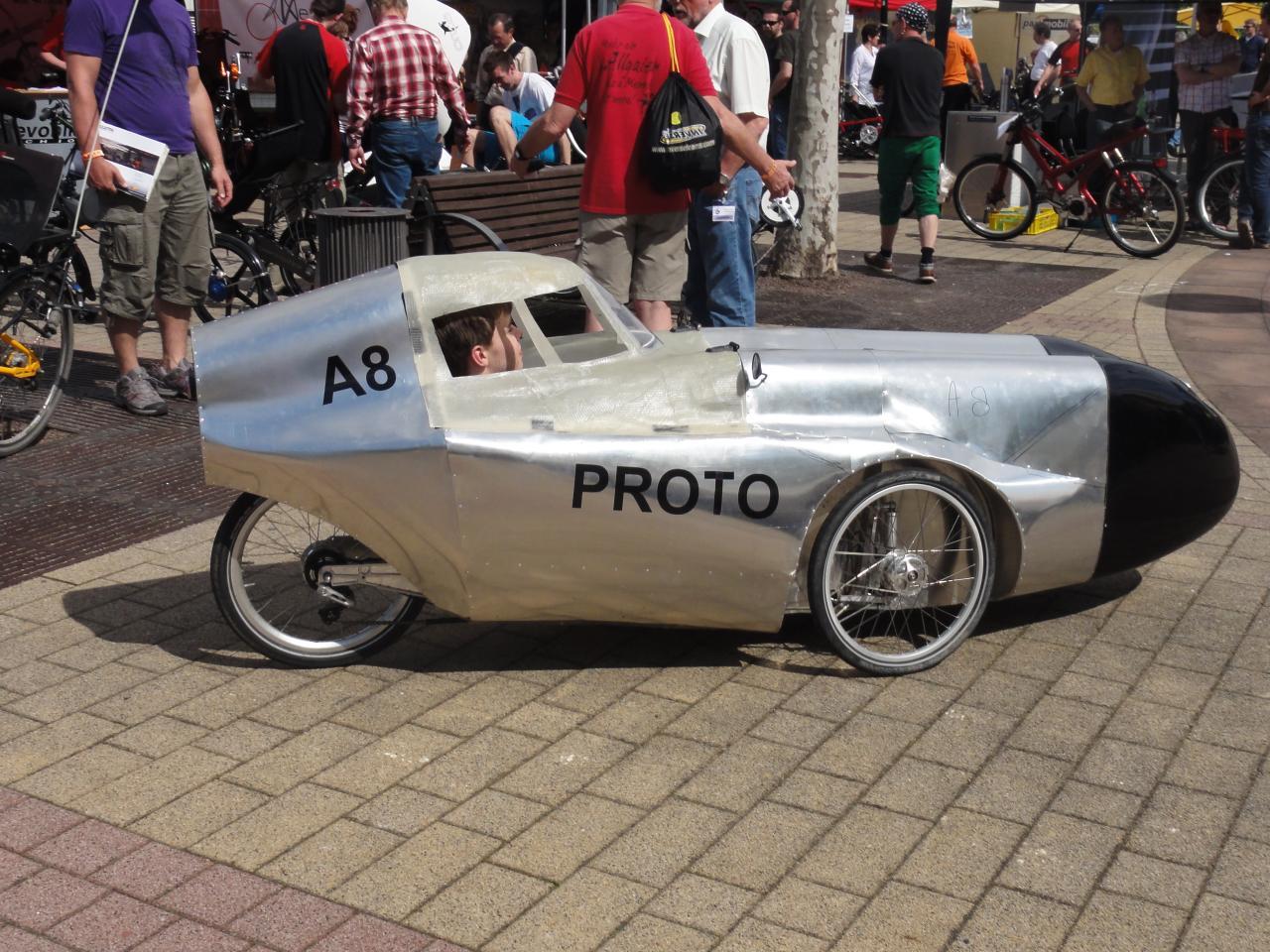 Vélomobile Allweder A8 Proto